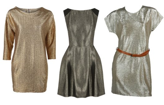 Shopping on a Budget: Metallic Dresses Under $50 1
