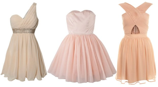 Great Finds: Pink Blush Prom Dresses Under $100