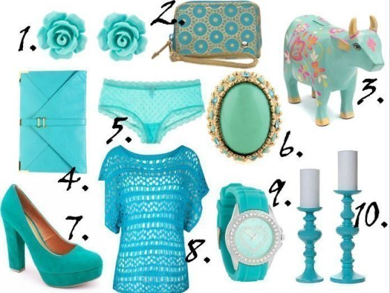 Color of the Week: Turquoise - 10 Picks Under $40! 3