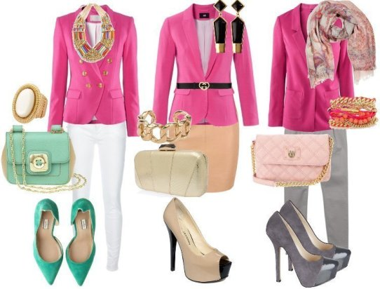 How to Wear Hot Pink Blazers - 3 Picks Under $50 1