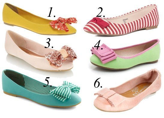 Summer Essentials: Colorful Bow Flats Under $35 7