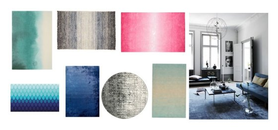Decor Picks: 7 Ombre Rugs You'll Love 1