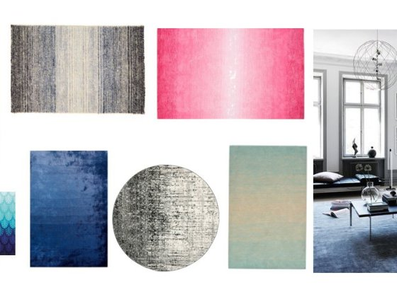 Decor Picks: 7 Ombre Rugs You'll Love 3