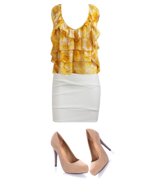 Daily Look - Dressy Ruffle Outfit for $100 1
