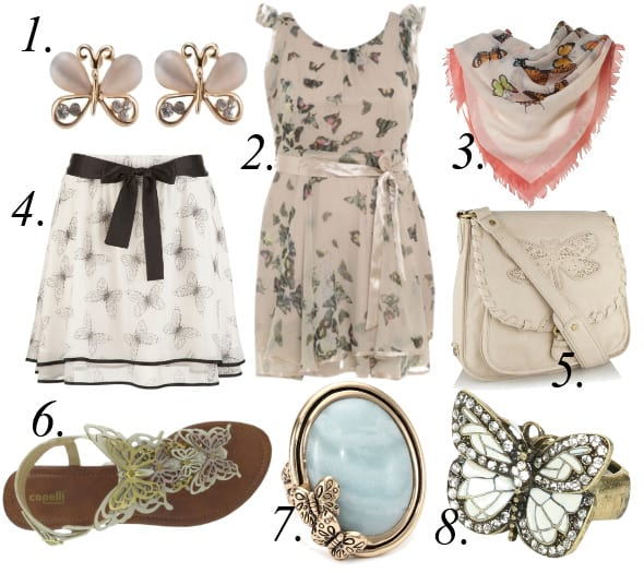 The Butterfly Effect - 8 Delicate Picks From $6 to $70 1