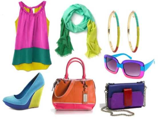 Colors Aloud! Vibrant Color-Block Picks Under $100 4