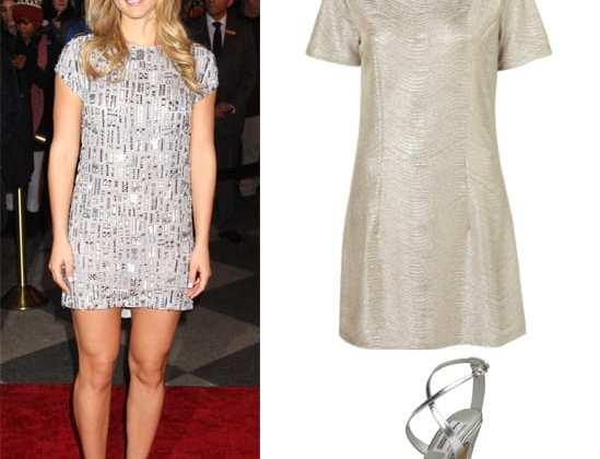 Get Her Style: Bar Refaeli's Silver Look Under $150 5