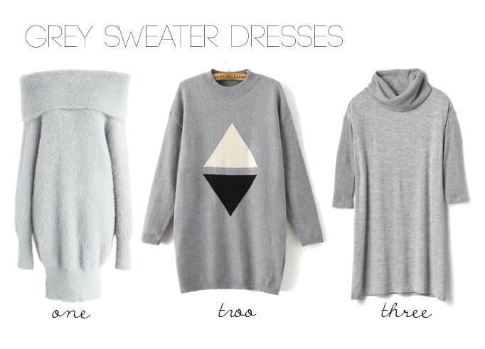 Grey Sweater Dresses Under $70