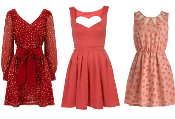 3 Great Picks for the Queen of Hearts: Rose & Red Heart Dresses 4