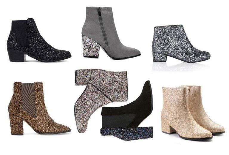 7 Sparkly Glitter Boots Under $100