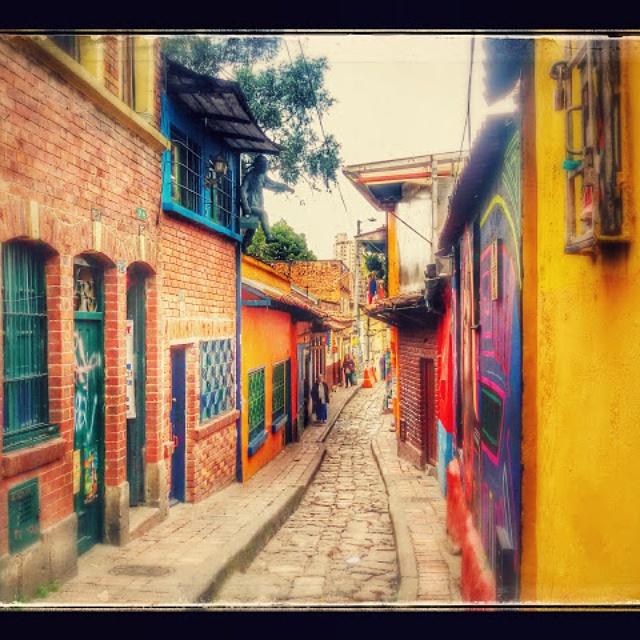 Bogota neighborhoods - La Candelaria
