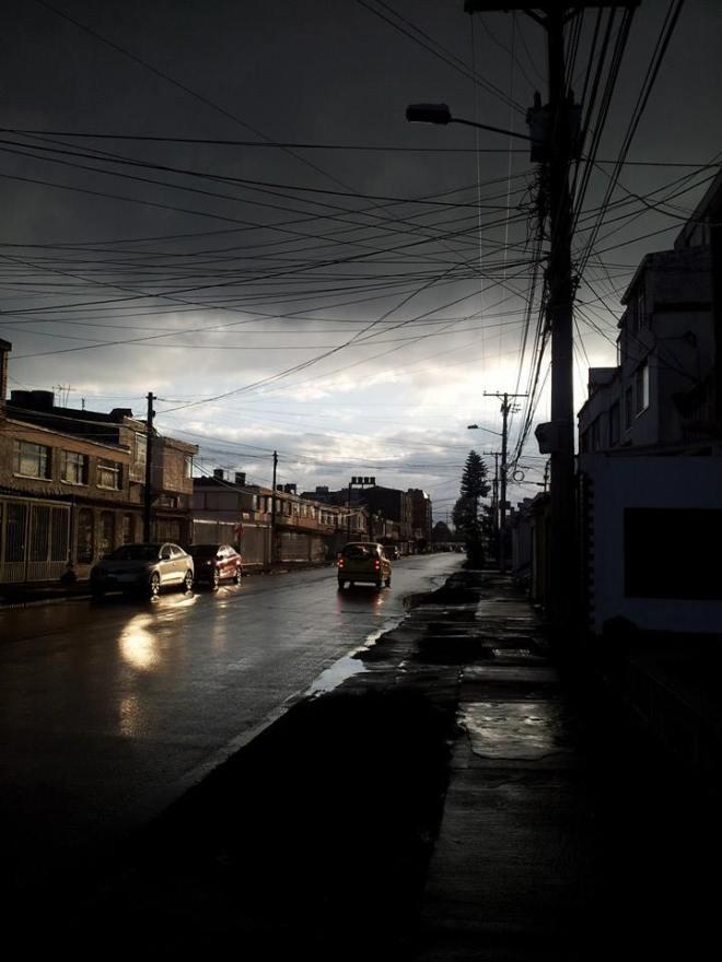 Bogota cloudy sky in Normandia