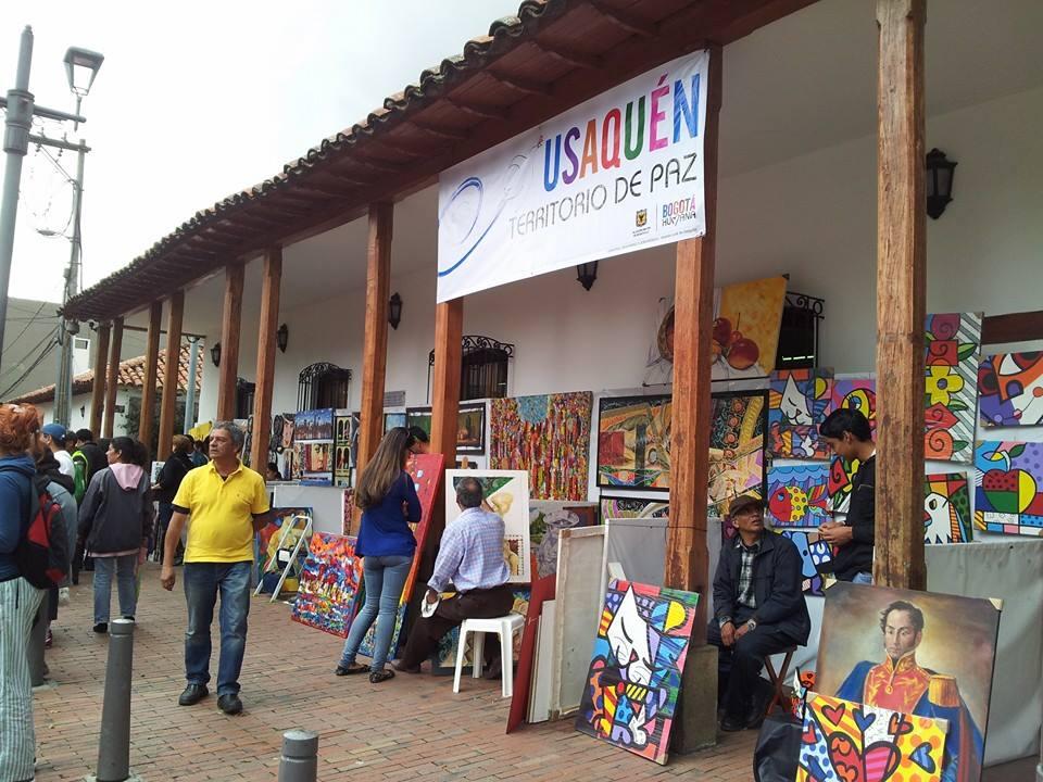 Usaquen market art