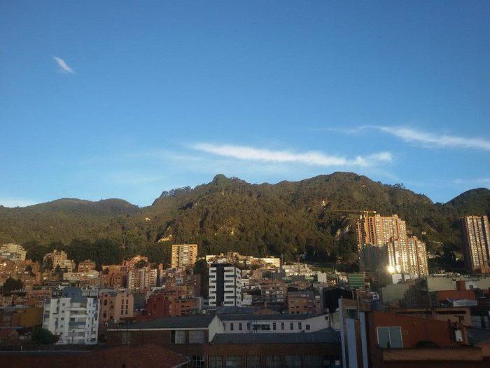 A typical Bogotá morning