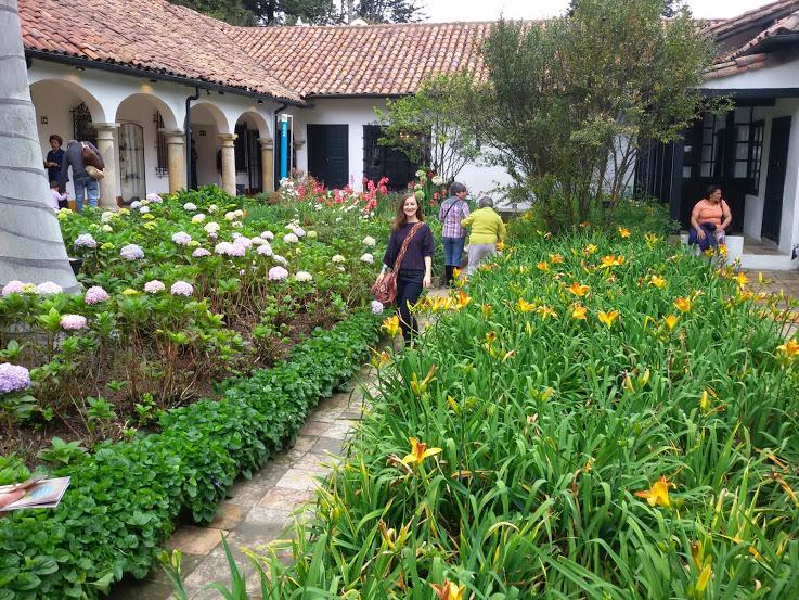 Chicó museum garden