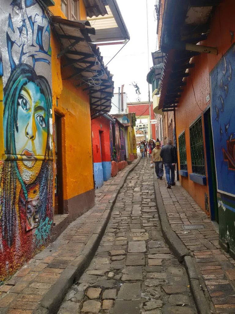 Bogota street scene
