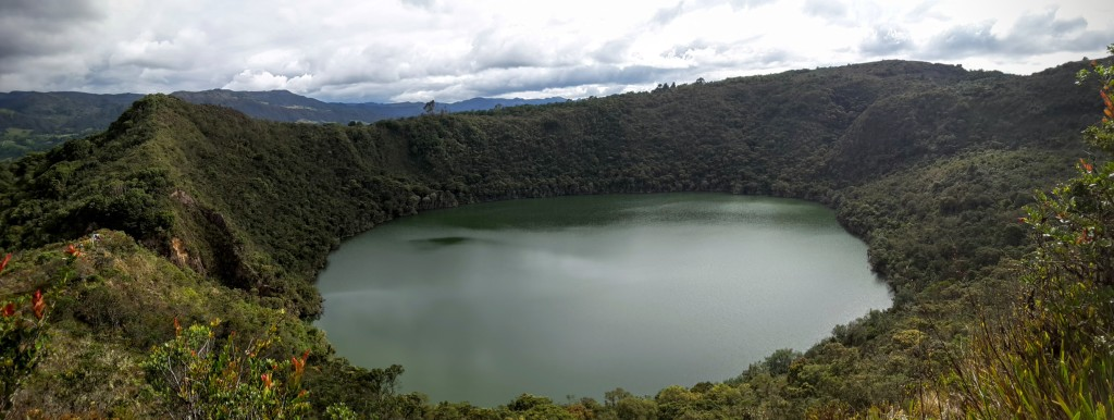 Guatavita lagoon