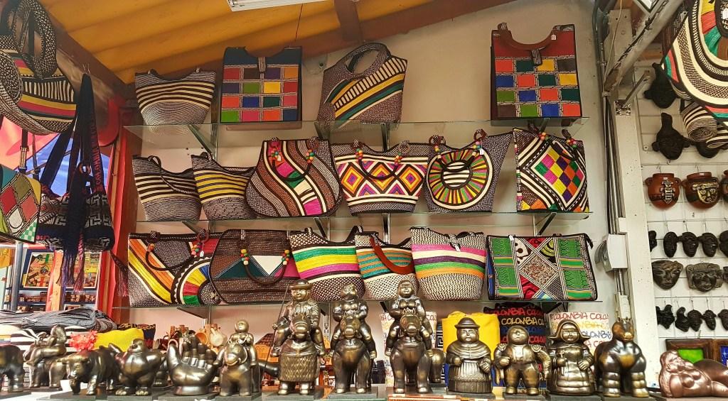 markets in Bogotá