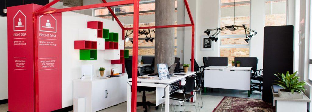 WorkandGo coworking spaces Bogota