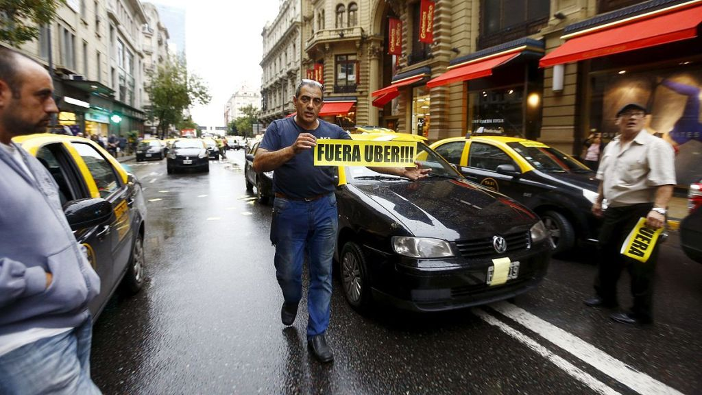 Uber in bogota controversy