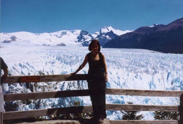 Solo female travel - Perito Moreno Glacier