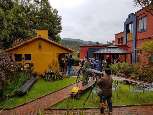 Observatorio de Colibries Hummingbirds Observatory Bogota