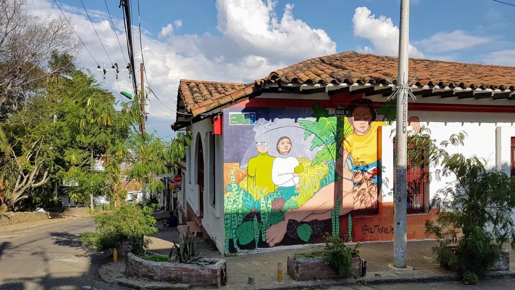 San Antonio neighborhood, Cali, Colombia