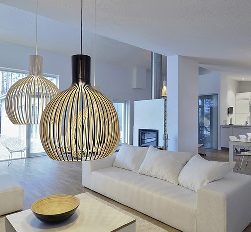 Modern Light Fixtures and Your Living Space  How To Build A House