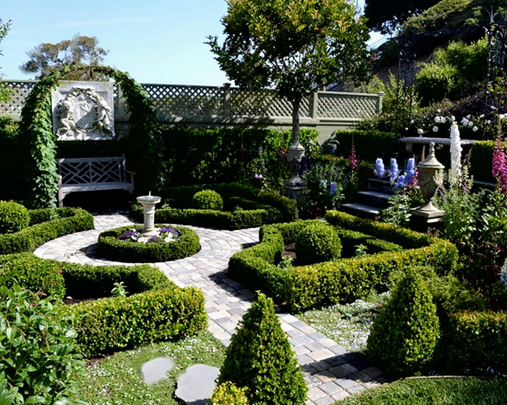 Informal English Garden Vs Formal French Garden How