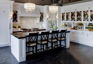 Modern Kitchen Island Dimensions