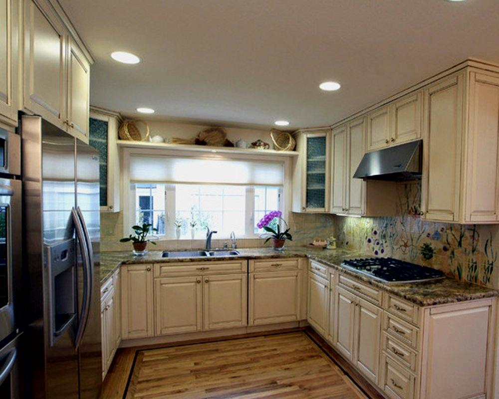 small kitchen appliance flush mount lights applying feng shui in your | how to build a house