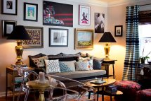 Eclectic Living Room Interior Design