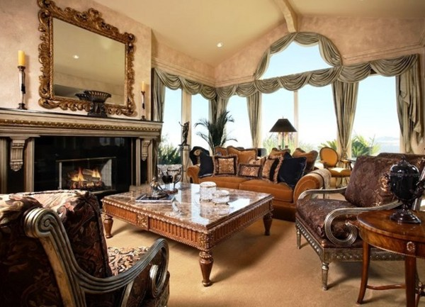 antique design living room Antique Style Living Rooms | How To Build A House