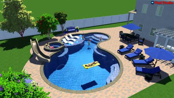 48d Home Design Pool Vtwctr Magnificent 3D Swimming Pool Design Software
