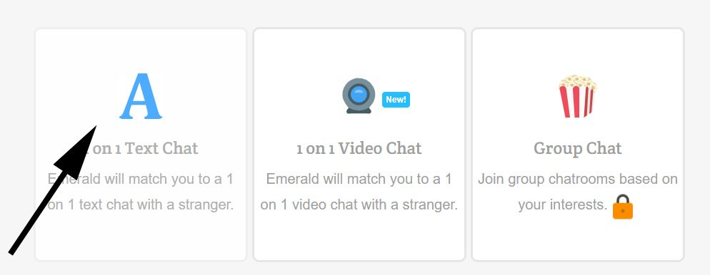 Emerald Chat: Meet People at Random Chat Website without