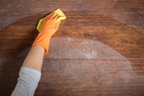cleaning kitchen floors pulls and knobs how to deodorize wood » clean stuff.net