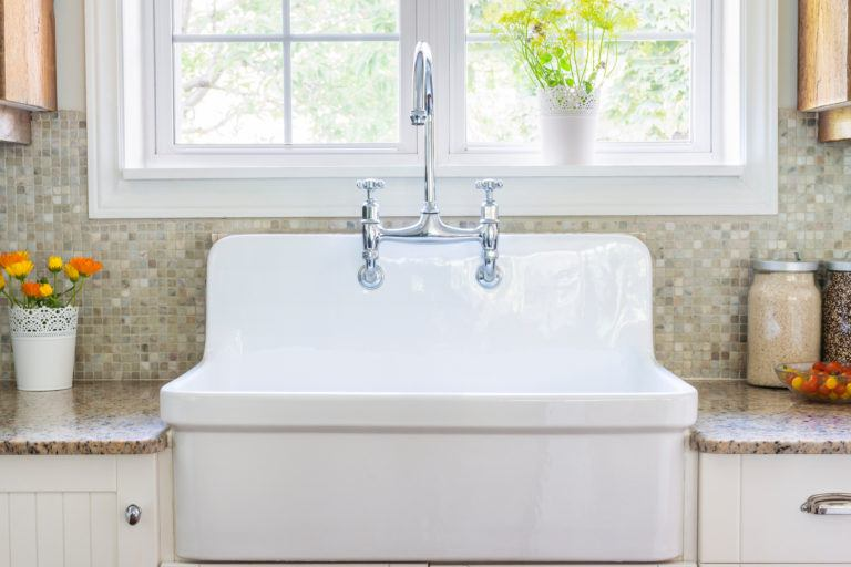 porcelain kitchen sink ceramic canisters how to clean a
