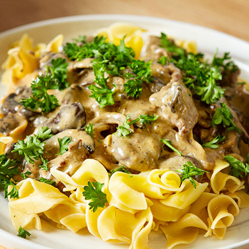 Classic Beef Stroganoff Recipe Steps With Video How To Cook Recipes