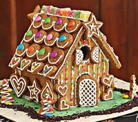 HowToCookThat Cakes Dessert & Chocolate Gingerbread House
