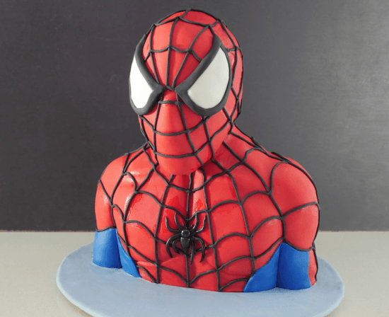 Howtocookthat Cakes Dessert Chocolate 3d Spiderman Cake