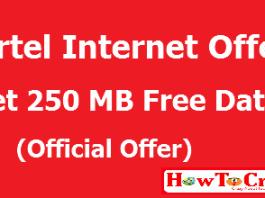airtel 250 mb offer
