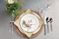 Place setting inspiration   How To Decorate