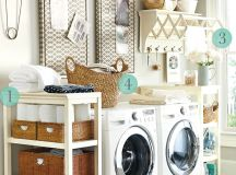 5 Laundry Room Decorating Ideas - How To Decorate