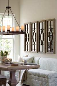 Decorating with Architectural Mirrors - How To Decorate