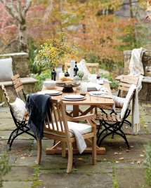Decorating Outdoor Space Fall - Decorate