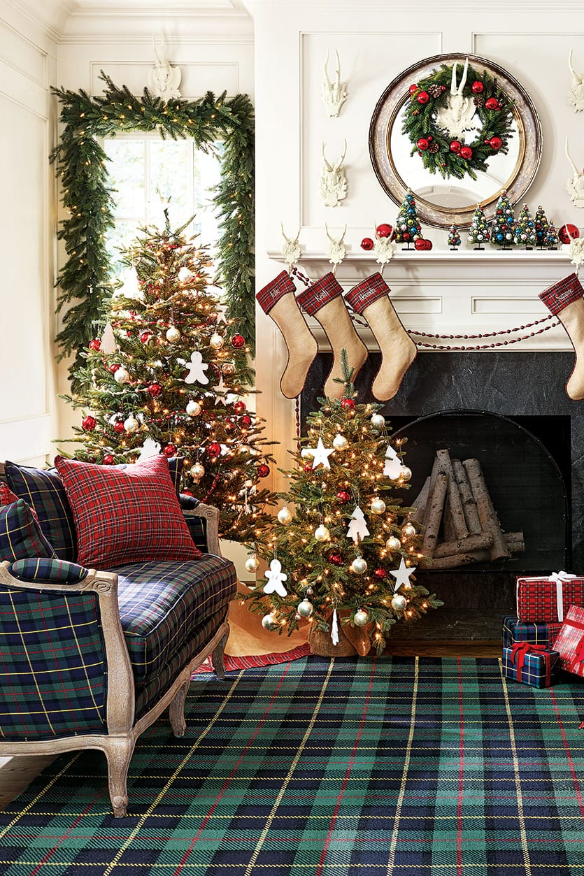 10 Ways To Decorate With Plaid How To Decorate