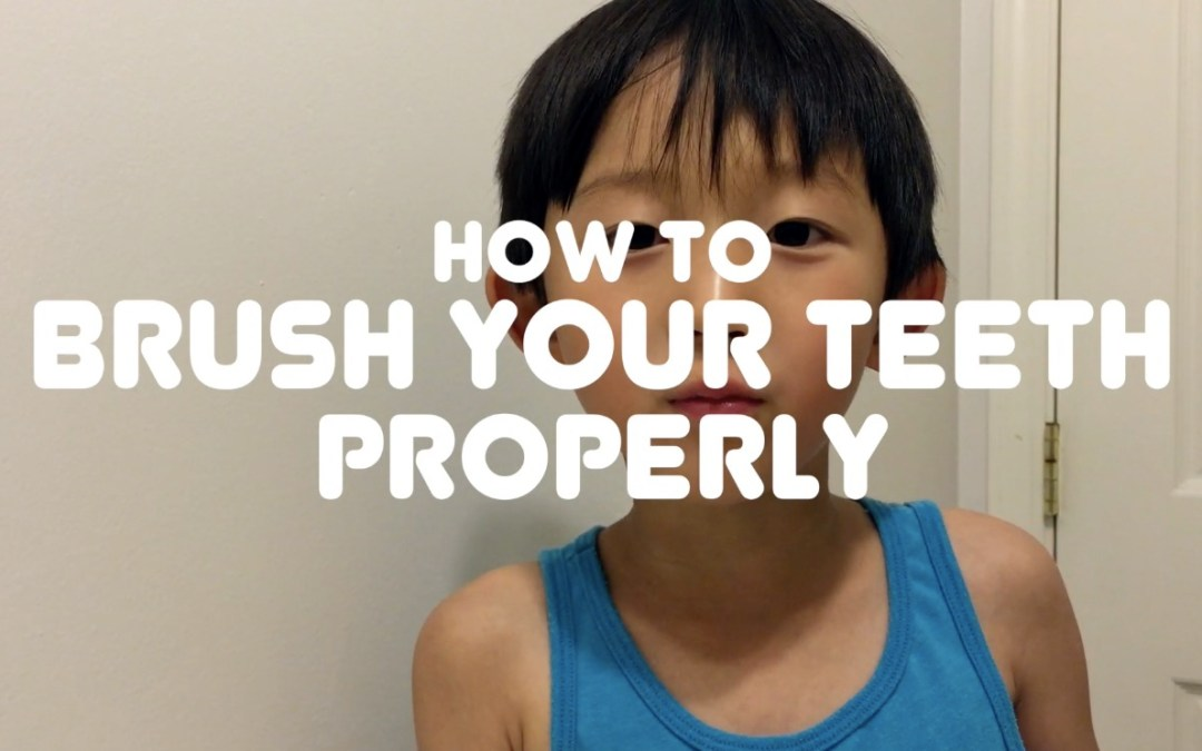 How to Brush Your Teeth Properly [VIDEO]