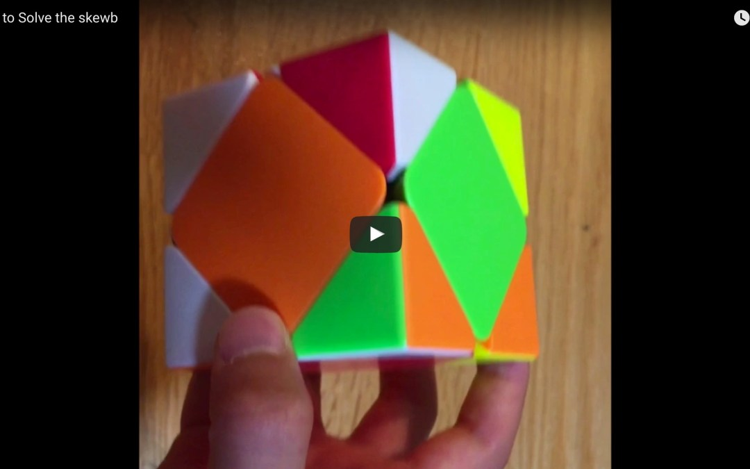 How to Solve the Skewb [VIDEO]