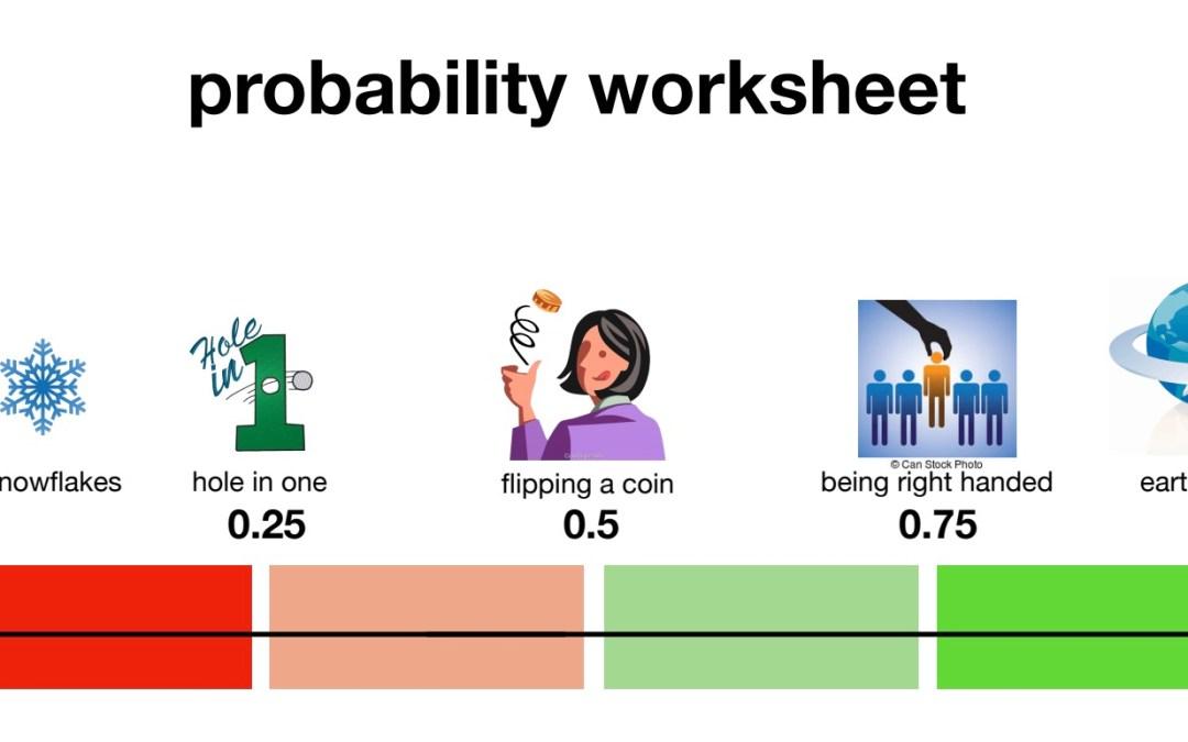 probability worksheet