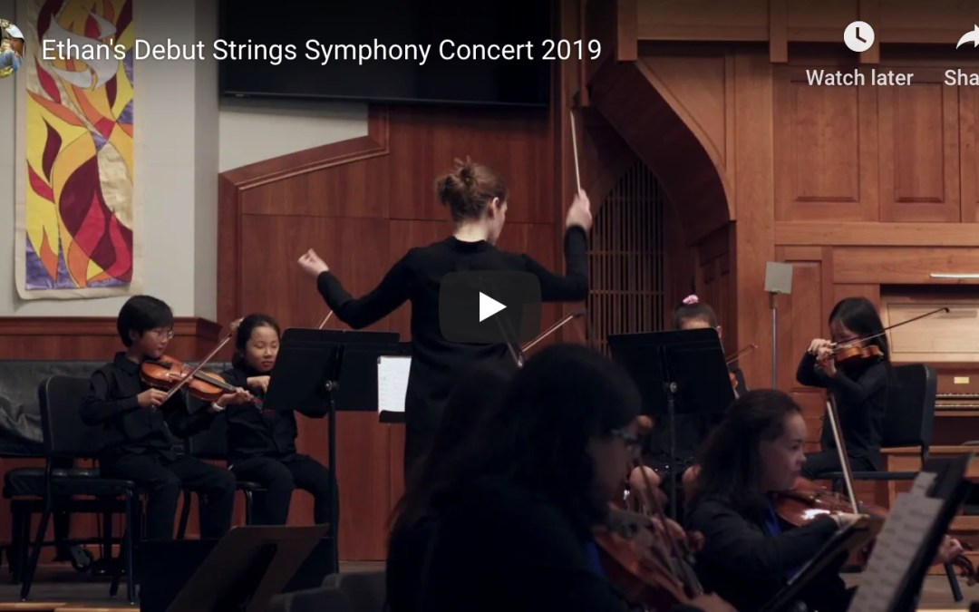 Debut Strings Symphony Concert [VIDEO]